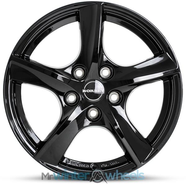 16 Ford Focus Iii Black Alloy Winter Wheels