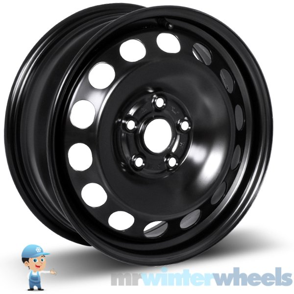 16 Inch BMW 3 Series (F30) Steel Winter Wheels And Winter