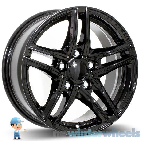 17 Inch BMW 3 Series (E90, E91, E92) Black Alloy Winter