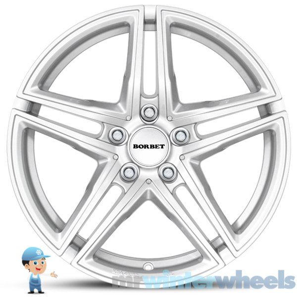 18 Inch Winter Alloy Wheels For BMW 3 Series (F30/F31) And