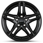 "BMW X3 F25 17"" Black Alloy Winter Wheels"