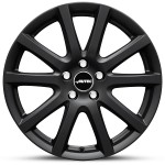 "VW Golf VI 16"" Black Alloy Winter Wheels & Tyres"