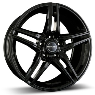 Black Alloy Wheel