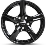 "VW Golf VII 17"" Borbet Alloy Winter Wheels & Tyres"