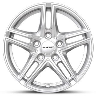 "BMW 6 Series F12 F13 17"" Borbet Alloy Winter Wheels"