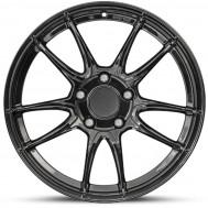 "Porsche 911 (991) 19"" Gloss Black Alloy Winter Wheels & Tyres"