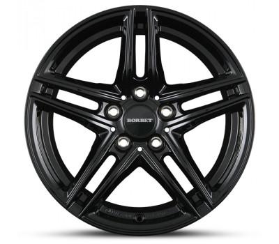 "BMW X3 F25 17"" Black Alloy Winter Wheels"
