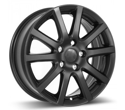 Black Alloy Wheels and Tyres