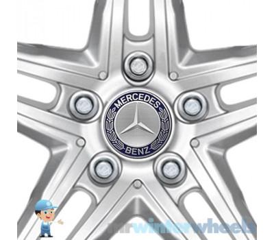Original Mercedes Caps fit this wheel