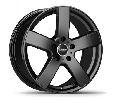Black Winter Wheel