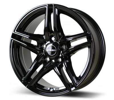 "BMW 3 Series G20 G21 17"" Black Winter Wheels Side View"