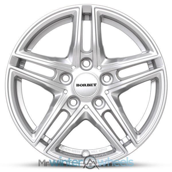 17 Inch Bmw 3 Series F30f31 Borbet Alloy Winter Wheels And Winter